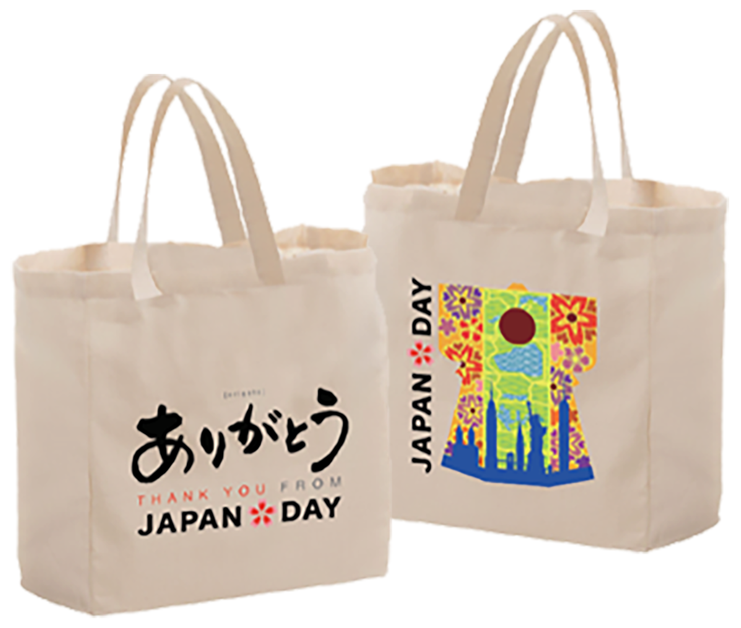 japan day thank you project 2021 tote bag